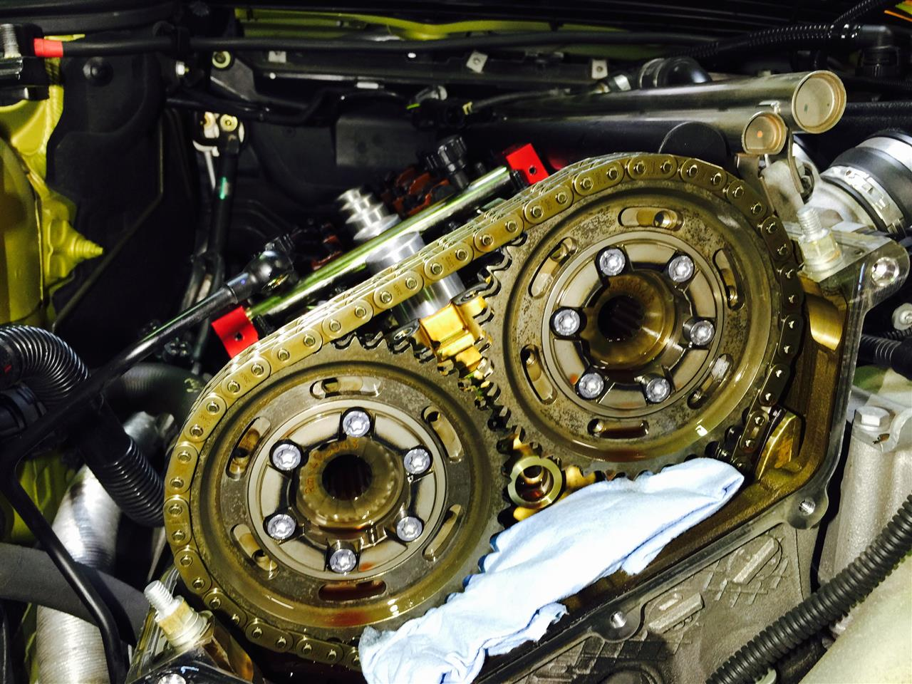MW S54エンジン フィリスターボルト交換
